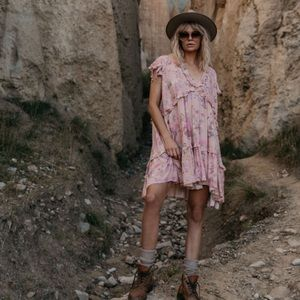Spell & The Gypsy Collective Dresses - Spell Wild Bloom Mini Dress